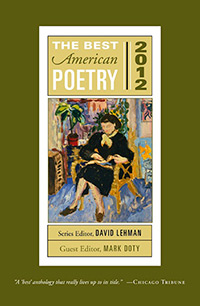 The Best American Poetry 2012, Edited by Mark Doty